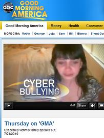 Good Morning America story on Cyber Bullying