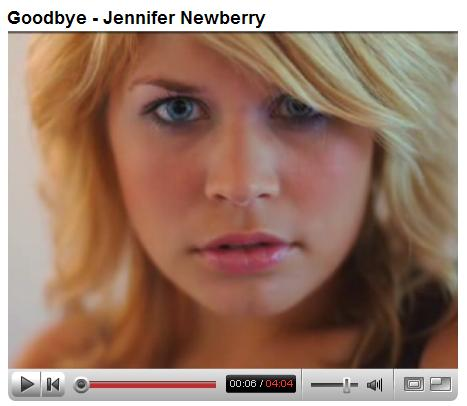 Jennifer Newberry screen capture