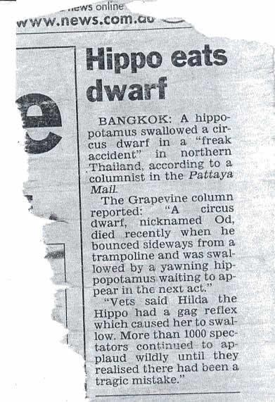 Hippo Eats Dwarf!?!?